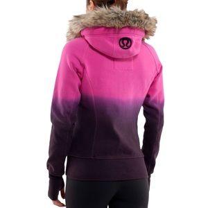 Lululemon pink purple ombré size 6 special edition